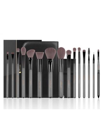 Набор профессиональных кистей для макияжа DUcare 15 шт.