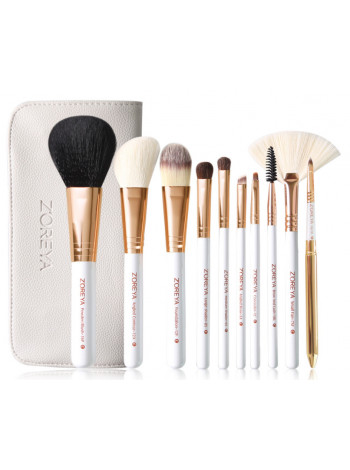 Набор кистей для макияжа Zoreya 10 шт