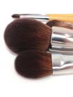 Набор профессиональных кистей для макияжа (15 шт.) в тубусе