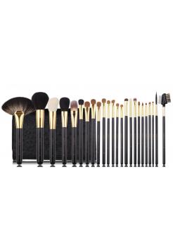 Набор профессиональных кистей для макияжа 24 шт.