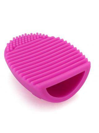 Силиконовая щетка для чистки косметических кистей